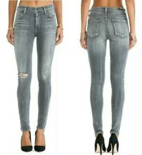 Citizens of Humanity Rocket High Rise Skinny Jeans London Calling Gray 28 fit 27