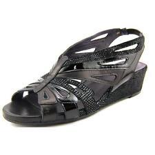 Womens Sandals Vaneli Weezy Black Nappa/Black Darry