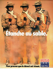 Publicité advertising 127 1979 eumig nautica sand waterproof camera