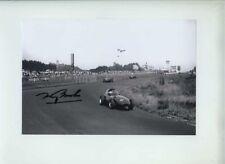Tony Brooks Vanwall German Grand Prix 1957 Signed Photograph 1