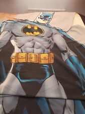 Boy single duvet cover and pillowcase. Batman