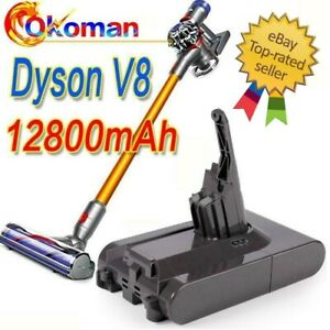 12800mAh 21.6V Battery Compatible with Dyson V8 Absolute Li-ion NEW SV10