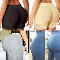 US Women Padded Butt Lifter Panty Body Shaper Fake Hip Shapwear Underwear Briefs