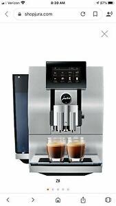 Jura Z8 Automatic Coffee Machine (brand New!!!) NO RESERVE!!!