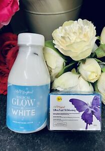 Skin Magical Glow in White Lotion 300 ml  & Ultra Fast Whitening Soap 150 g