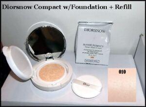 Dior DiorSnow Bloom Perfect Brightening Moist Cushion Foundation + Refill #010