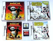 Juegos: pequeño Nanda panda + kong Fu Panda/juegos de niños para Nintendo DS + Lite