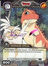Carte DINOSAUR KING DKCG 150/160 TERRY