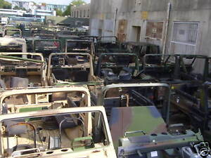 Jeep Peugeot P4 Mercedes G Chassis Association Service National