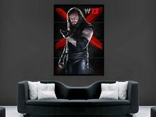 WWE THE UNDERTAKER   WRESTLING LARGE GIANT POSTER WALL  PICTURE
