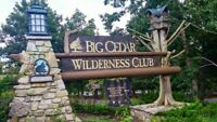 Big Cedar Wilderness Club  Sunday 08/12/18 - Friday 08/17/18 1 Bedroom Lodge