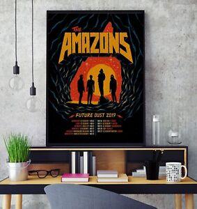 The Amazons 2019 UK Tour Premium Poster Print Professional Grade Gloss Photo