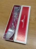 Vintage Reed & Barton Annual 1984 Christmas SILVERPLATE Spoon In Box