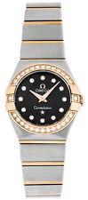 Omega Constellation Brown Women 24MM 18KR Watch123.25.24.60.63.001