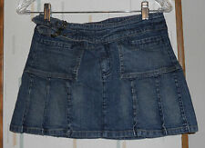Rampage Juniors Size 3  Blue Denim Mini Jeans Skirt
