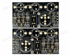 2PCS JLH Hood 1969 Class A amplifier Board Perfect 6 Tube Mute Version Bare PCB