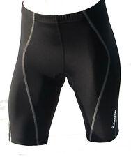 Zimco Pro Cycling Short Biking Shorts COOLMAX Padded Gray Seams 1042