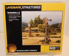 Woodland Scenics HO #5192 Windmills structure kit NEW