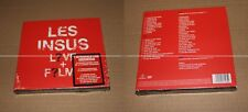 LES INSUS - LIVE + FILMS - DIGIPACK 2 CDs + 2 DVDs - LIMITED SOLD OUT COLLECTOR