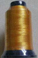 Maschinenstickgarn 1000m  40er 0,37 Euro/100m gold gelb PFK 524 Stick Garn