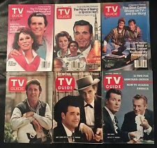 Lot of 6 TV Guides with James Garner covers Maverick Promise Heartsounds Space
