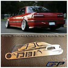 Acura Integra DB1 sedan JDM Stainless Steel metal custom Key chain / DA DA9 DB2