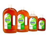 Dettol Liquid Antiseptic Disinfectant 250ml / 500ml / 750 ml