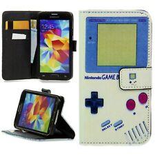 Schale Flip Handy Schutz Hülle Cover Case Klapp Etui mit Motiv Gameboy Nintendo