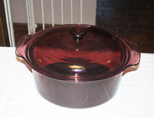 Vision Corning Ware Cranberry 5L Stock Pot With Lid