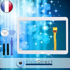 """Vitre ecran tactile pour Samsung Galaxy Tab 4 10.1"""" T530 T531 T535 blanc+ outils"""