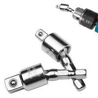 Angle Extension Tool Socket Adapter Power Drill Bit Set Hex Shank 1/4 3/8 1/2