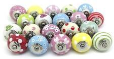 10 Wholesale Door Assorted Mix-Ceramic Drawer Knobs Pulls Handles Kitchen-Knobs