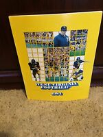 1984 WEST VIRGINIA MOUNTAINEER  COLLEGE FOOTBALL MEDIA GUIDE box9