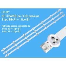 BARRE STRIP LED 6916L-1437A (B2)   6916L-1438A (B1)  AGF78399701 KITLG 32LN577S