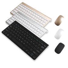 Mini USB 2.4G Wireless Keyboard & Mouse Combo Kits Laptop Mac Apple PC Computer