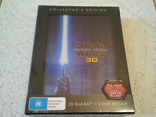 STAR WARS BLU RAY 3D THE FORCE AWAKENS COLLECTORS LIMITED ED NEW SEALED RARE