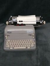 Vintage 1950S ROYAL QUIET DELUXE TYPEWRITER, GREY COLORED
