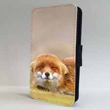 Cute Face Red Fox FLIP PHONE CASE COVER for IPHONE SAMSUNG