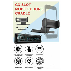 AlightStone Universal Car Truck CD Slot Mount Holder Cradle for Iphone 4 5 6 7
