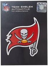 Tampa Bay Buccaneers Color Emblem Sticker Decal Aluminum Metal Car Truck Auto