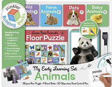 Building Blocks My Early Learning Set Animals by Hinkler Books (Book, 2016)