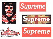 Sticker bombing Aufkleber Supreme Logo Skate Boarding Vinyl Long Board O3S10_2