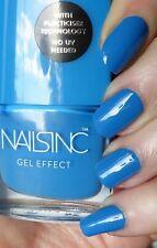NAILS INC ~Gel Effect~ Nail Polish No Lamp Needed MERCER STREET Blue Creme .27oz
