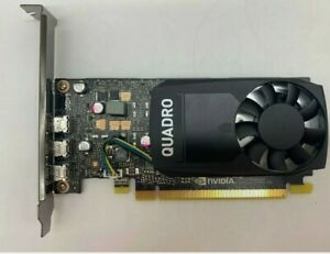 DELL Quadro P400 2GB 3mDP FH 490-BDTB Graphics Card 3 x dp HP Nvidia