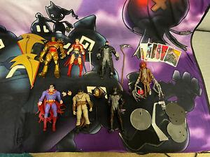 DC Multiverse McFarlane Loose Figure Lot Infected Superman Hellbat Gold Batman