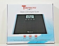 Detecto Glass LCD Digital Scale D123