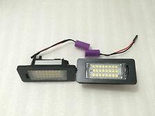 PLAFONES LED DE MATRICULA LUCES LED DE MATRICULA Audi A1 11-14 HOMOLOGADO E11 CE