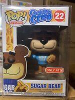 Funko Pop! #22 Sugar Bear Golden Crisp Ad Icons Target Exclusive *NEW *PROTECTOR