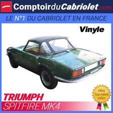 Capote Triumph Spitfire MK4 cabriolet en Vinyle