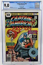 Captain America #198 (1976) CGC Graded 9.0 30 Cent Price Variant Marvel Comics